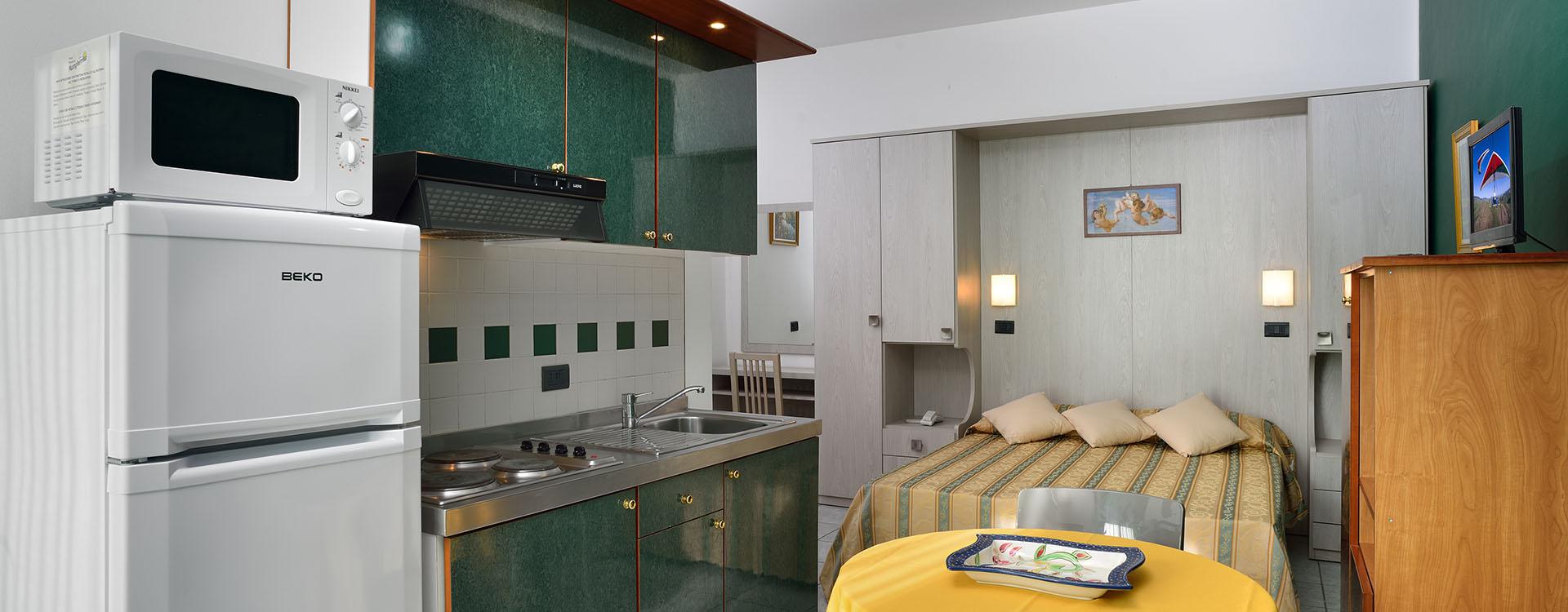 Einzimmerwohnung Plus
